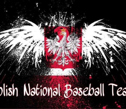 Polish National Baseball Team logo.