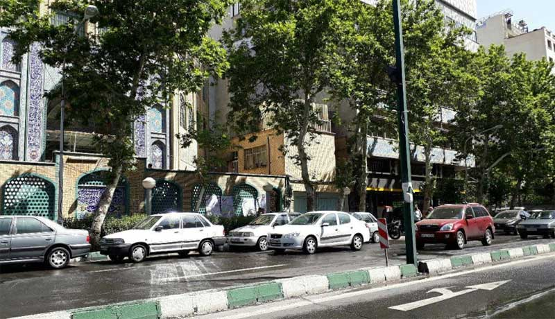 quiet election day traffic in iran