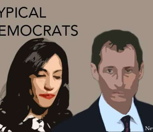 typical democrats, huma and anthony.