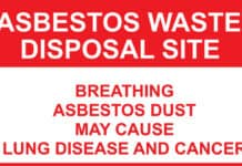 asbestos exposure.