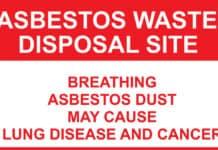 asbestos exposure.