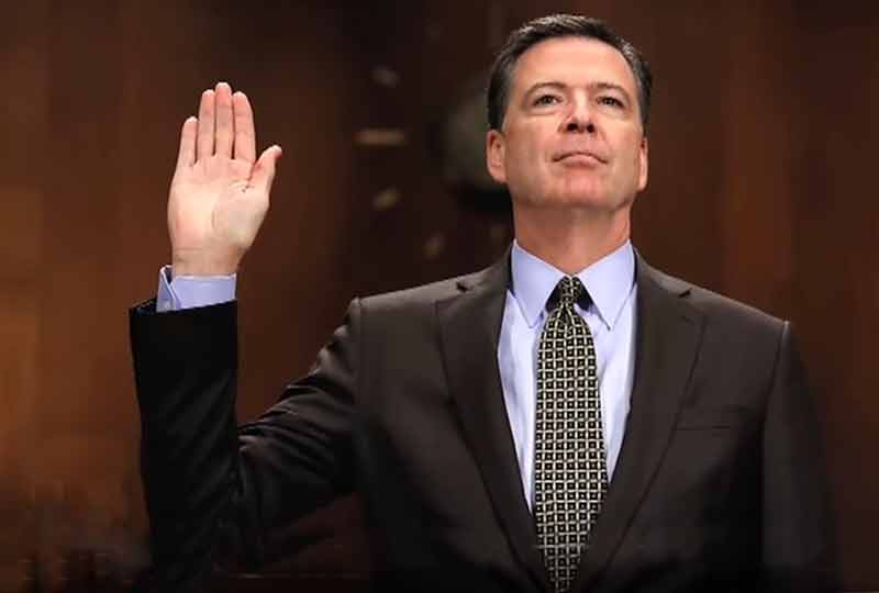 Former FBI chief Comey testifies before Senate, blasts Trump for 'lies'