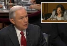 jeff sessions harangued by kamala harris.