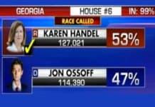 republican karen handel wins georgia.