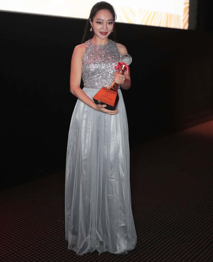 Kunjue Li Receives 'Young Icon Award' at BAFTA 1