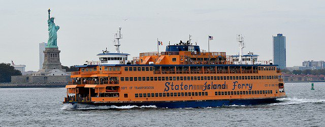 Staten Island Ferry. Image by Maurice LE BAIL from Pixabay