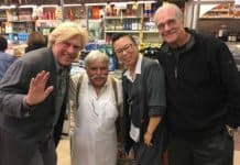 Pete Allman, Papa Cristos, Jin Jiang and Tom Hallick.