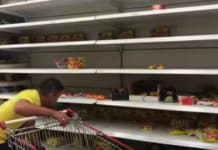 qatar empty shelves.