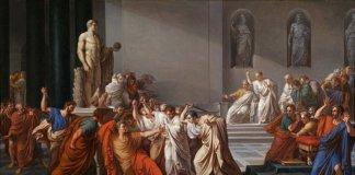 The Assassination of Julius Caesar.