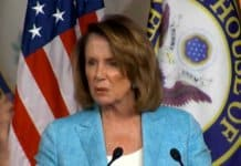 toxic nancy pelosi leads democratic party.