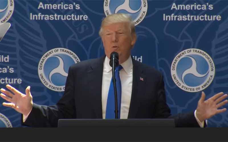 Trump moves ahead, cuts regulations.