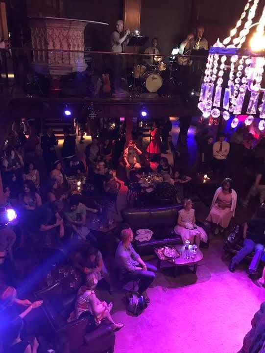 Audience at Clifton's.