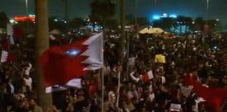 bahrain demonstrators.