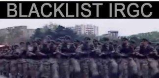 Blacklist IRGC.