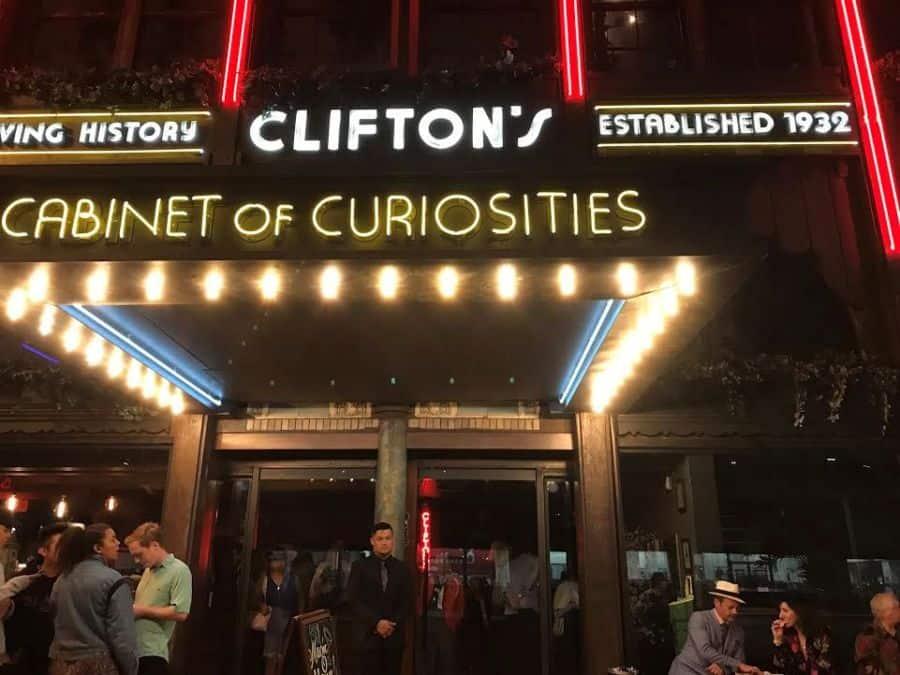 Clifton's main entrance.