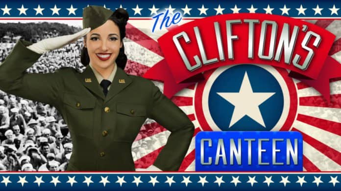 Clifton's USO Show Tribute.