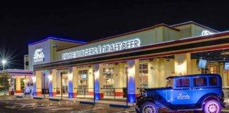 fords garage burger beer front facade.
