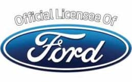ford's garage official licensee logo.