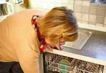 Water damage can come from appliances such as dishwashers.