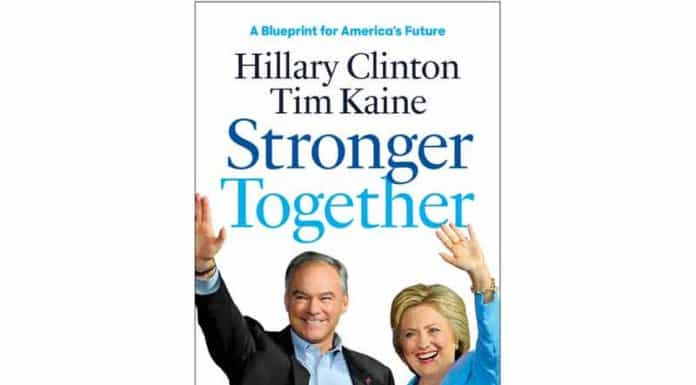 hillary clinton stronger together.