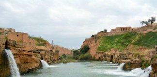 Waterfall in Iran.