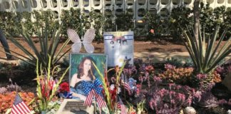 Vicky Hen's Memorial at LAX.