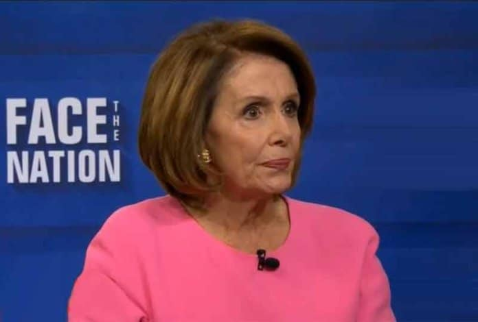 nancy pelosi on face the nation.