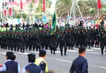 Qatar military on Qatar National Day 2012.