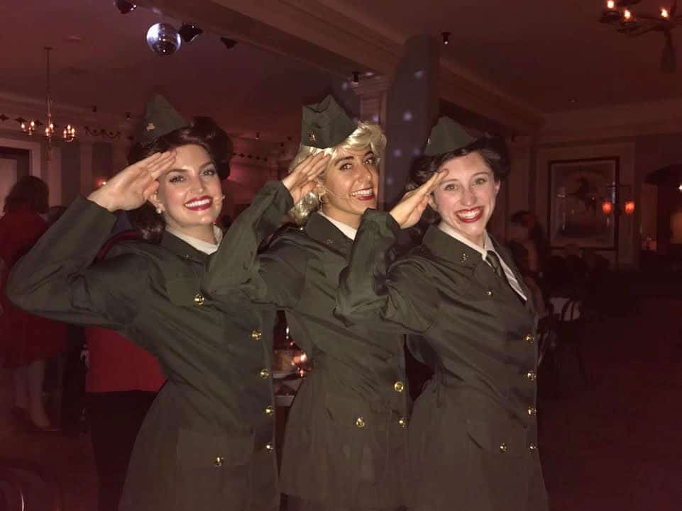 The Andrews Sisters characters