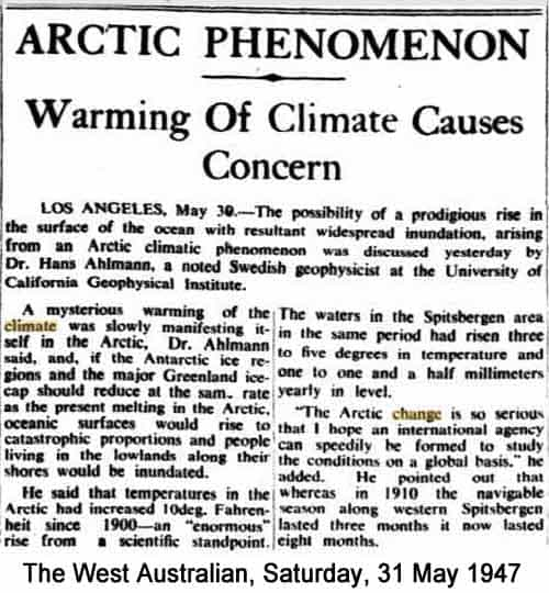 arctic phenomenon 1947.