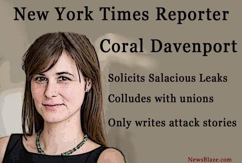 coral davenport - new york times.