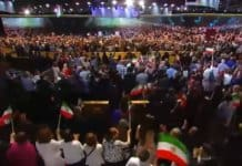 iran regime change paris event.