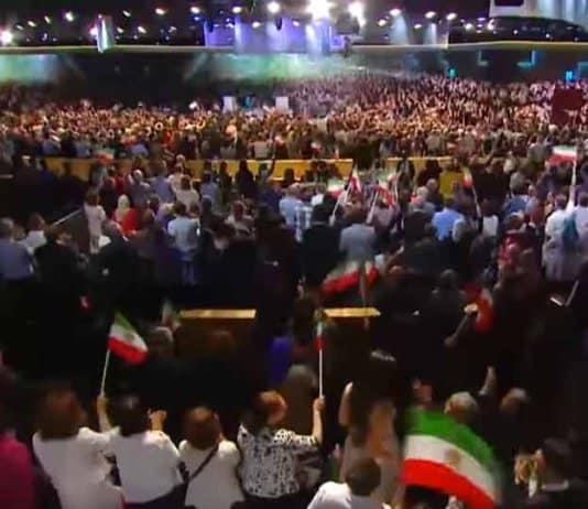 iran regime change paris event.
