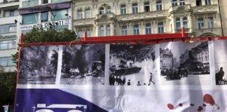 Prague-New town-Wenceslas Square-Václavské námÄstí-where Václav Havel started the Czech freedom revolution.