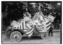 Suffragists in Parade