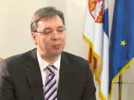 vucic calls for urgent internal dialog on kosovo.