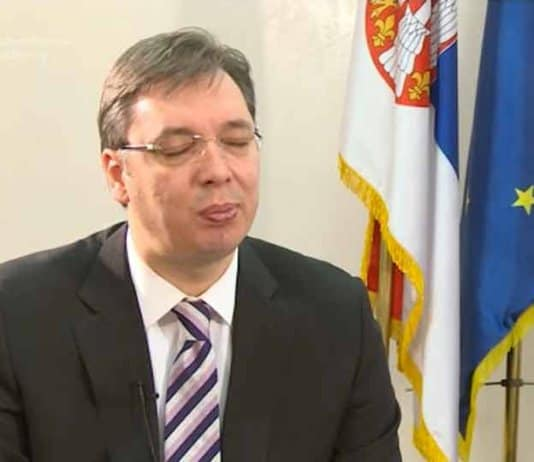 vucic calls for urgent internal dialog on kosovo.