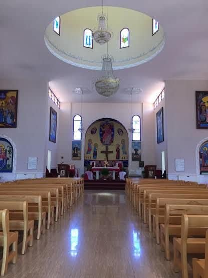The Aramaic-Maronite-church in GISH where The Center for Music in the Galilee hold annual concert