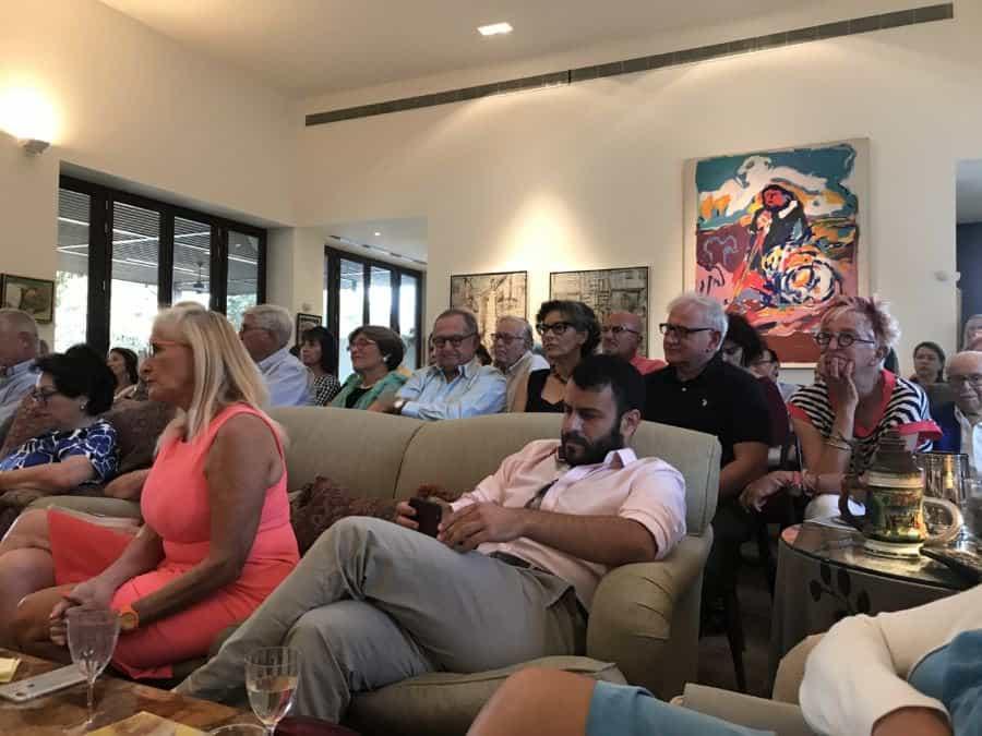 Concert in Kfar Vitkin - HaMerkaz LeMuzika Hagalil - The Center for Music in the Galilee, Audience