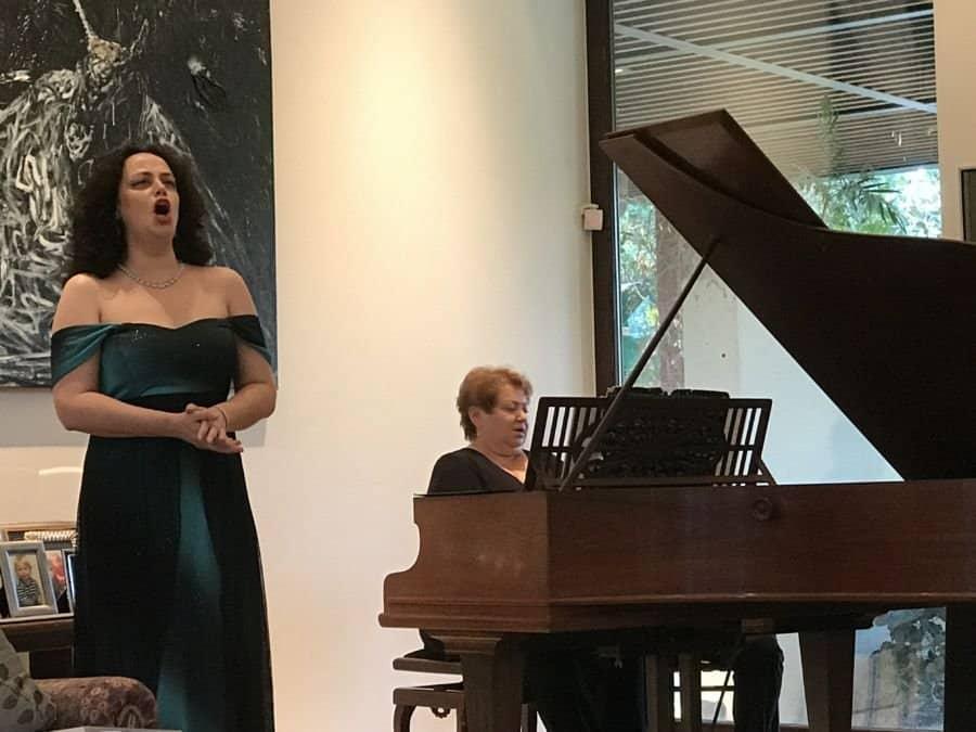 HaMerkaz LeMuzika Hagalil - The Center for Music in the Galilee, Soprano Ira Bertman, piano Bella Steinboch.