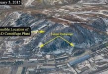 North Korea test site.