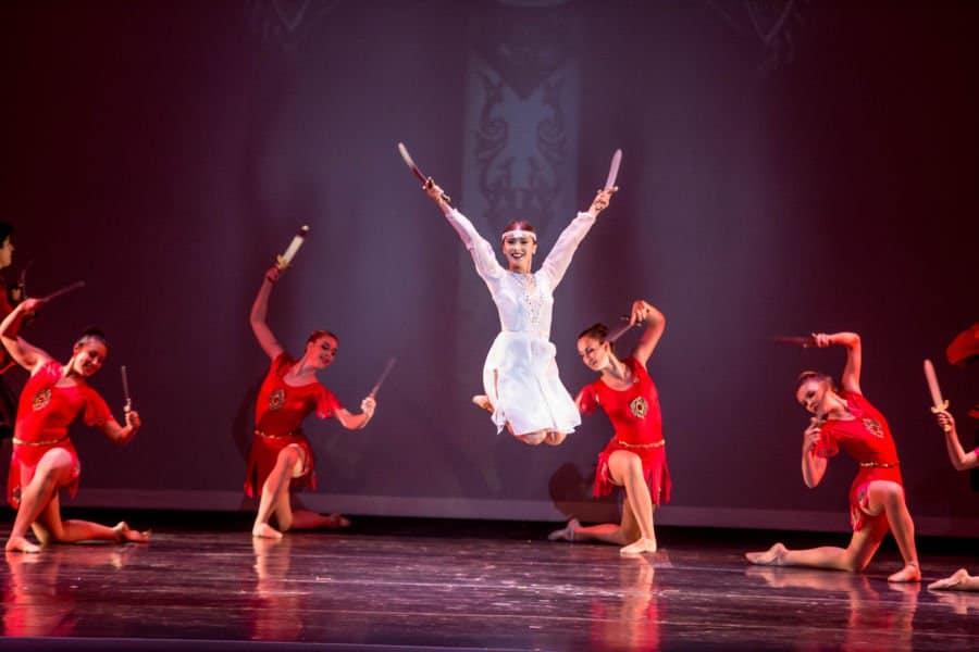 photo n elen in sabor dance in gayane photo by cheryl mann bok143 - Pacific Ballet Dance Theatre Soars in Southern California