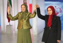 Mrs. Rajavi and Ms. Zahra Merrikhi.