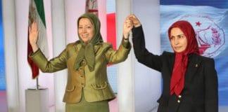 Mrs. Rajavi and Ms. Zahra Merrikhi.