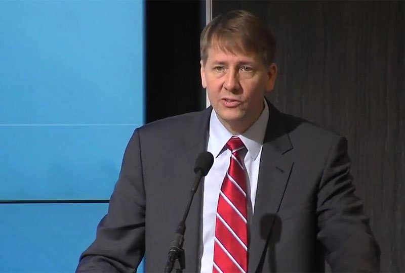 richard cordray - part of anti-Trump resistance?