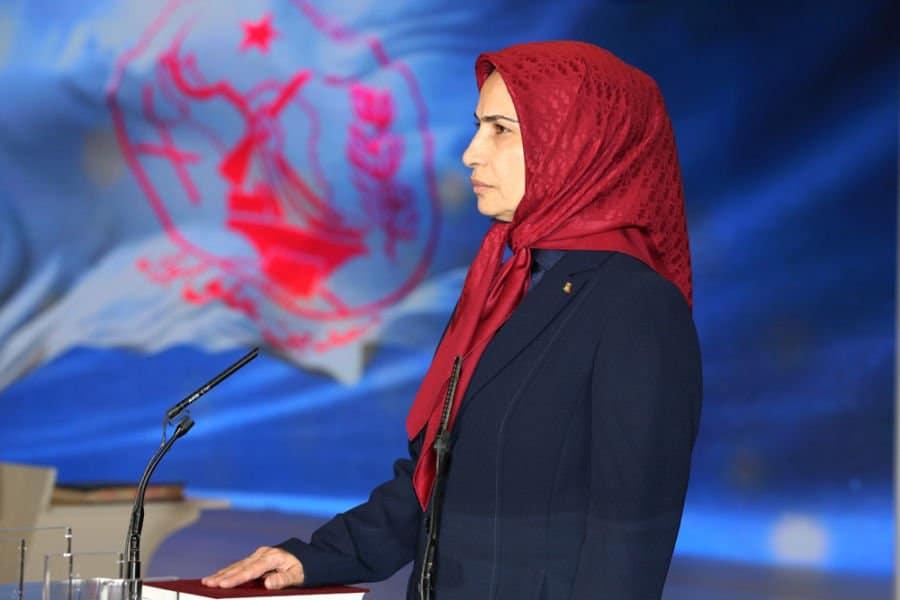 ms. zahra merrikhi, the new MEK Secretary General.