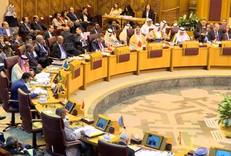 arab league debate over qatar terror link.