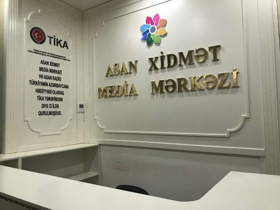ASAN radio station on premises-constantly inform the public
