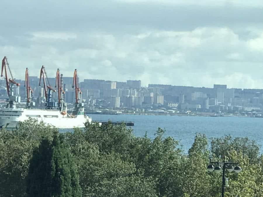 Beautiful Baku.