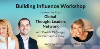building influence workshop.